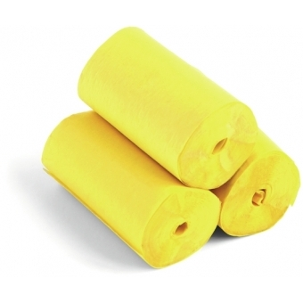 TCM FX Slowfall Streamers 10mx5cm, yellow, 10x