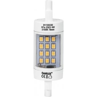 OMNILUX LED 230V/4W R7s 78mm Pole Burner #3