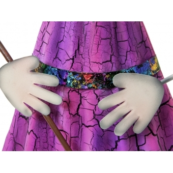EUROPALMS Little Witch, Metal, 102cm purple #3