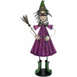 EUROPALMS Little Witch, Metal, 102cm purple