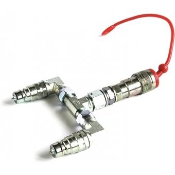 TCM FX CO2 Combiner (2 CO2 Bottles to 1 CO2 Jet)
