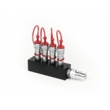 TCM FX CO2 Distribution Block (4x3/8 in to 1x3/4 out)