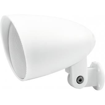 OMNITRONIC PS-2.5WB Projector Speaker, white, 2x