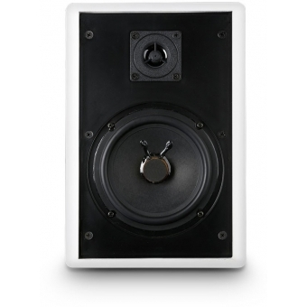 "CWMSS 5 100 V 5.25"" 2-WAY WALL MOUNT SPEAKER FLAT 100V  (PAIR) #6"