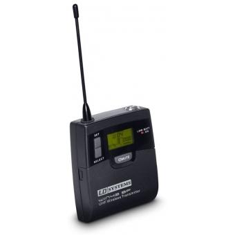 Sistem microfon wireless cu beltpack si lavaliera LD Systems WIN42 BPL #2