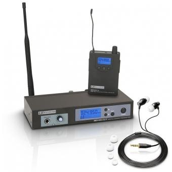 Sistem wireless monitorizare in-ear LD Systems MEI 100 G2