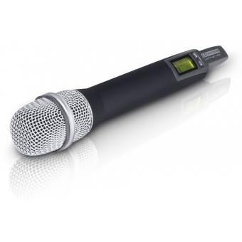 Sistem wireless cu microfon de mana condenser LD Systems HHC #4