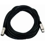 OMNITRONIC XLR cable 3pin 15m bk
