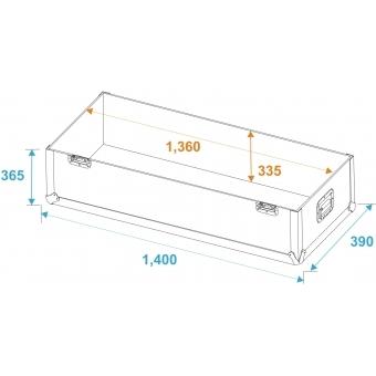 ROADINGER Flightcase 2x LCD ZL55 #5