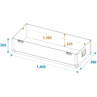 ROADINGER Flightcase 2x LCD ZL55 #6