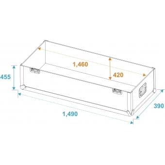 ROADINGER Flightcase 2x LCD ZL60 #6