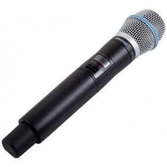 Sistem microfon wireless Shure QLXD24/Beta87C + bonus capsula Beta58 #7