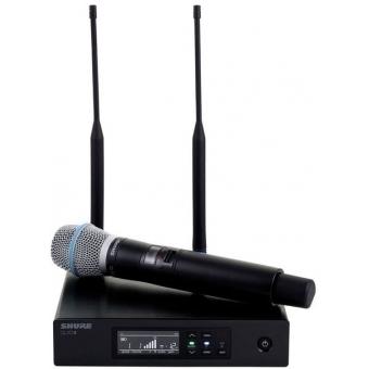 Sistem microfon wireless Shure QLXD24/Beta87C + bonus capsula Beta58 #2