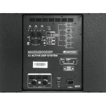 OMNITRONIC MAXX-1200DSP 2.1 Active System #3