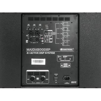 OMNITRONIC MAXX-1200DSP 2.1 Active System #4