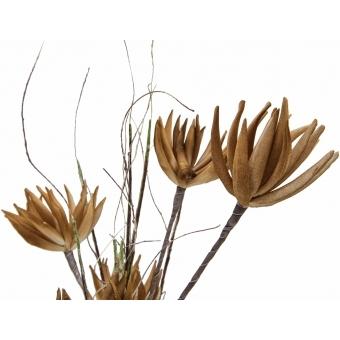 EUROPALMS Artichoke Branch (EVA), beige, 100cm #2