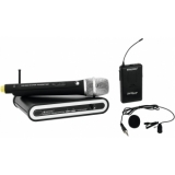 OMNITRONIC Set UHF-201 Wireless Mic System + Bodypack 863.420 MH