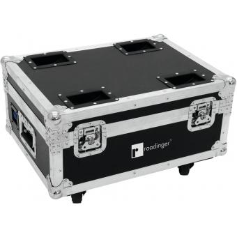 ROADINGER Flightcase 4x AKKU UP-4 QuickDMX with charging functio #2