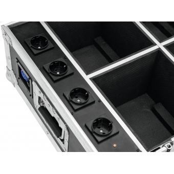 ROADINGER Flightcase 4x AKKU UP-4 QuickDMX with charging functio #5