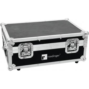 ROADINGER Flightcase 4x AKKU TL-3 Trusslight QuickDMX with charg #2