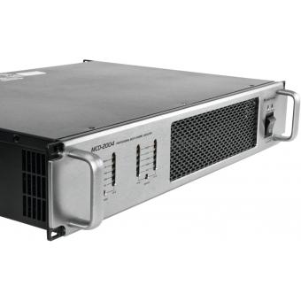 OMNITRONIC MCD-2004 4-Channel Amplifier #5