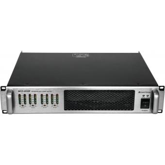 OMNITRONIC MCD-4008 8-Channel Amplifier #4