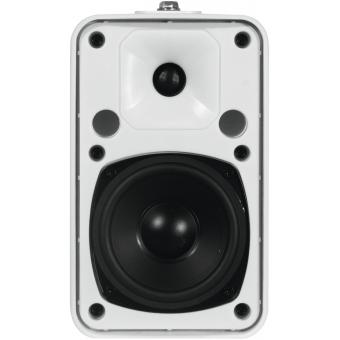 OMNITRONIC ODP-204T Installation Speaker 100V white 2x #4