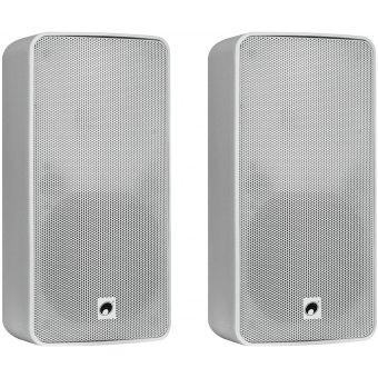 OMNITRONIC ODP-206 Installation Speaker 16 ohms white 2x #1