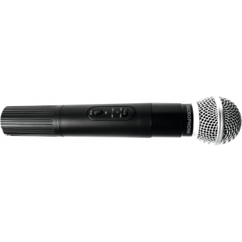 OMNITRONIC VHF-450 Handheld Microphone 174.1 MHz