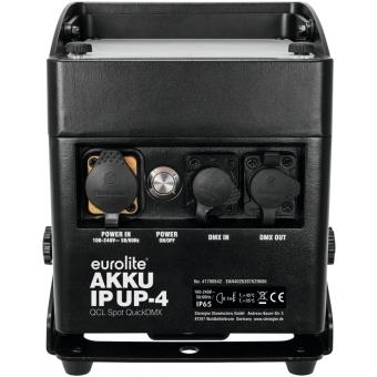 EUROLITE AKKU IP UP-4 QCL Spot QuickDMX #3