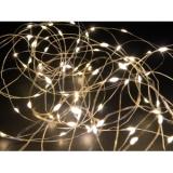 EUROLITE 100 LED String Light w/ Battery and Timer warm white