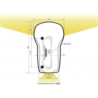 EUROLITE LED Neon Flex 230V Slim cold white 100cm #2