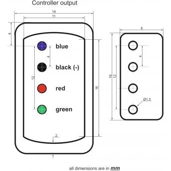 EUROLITE Controller Basic for LED Neon Flex 230V Slim RGB #5