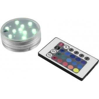 EUROLITE LED Puck Light multicolor IP68