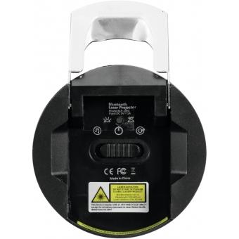 EUROLITE LightBeat 1 Bluetooth Speaker with Laser Effect #3
