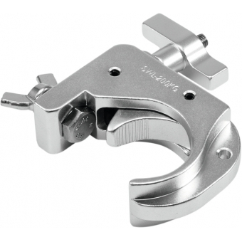 EUROLITE TH50-75 Theatre Clamp silver #2