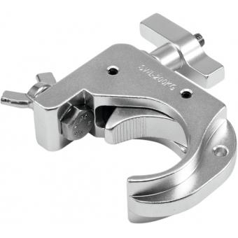 EUROLITE TH50-75 Theatre Clamp silver #2