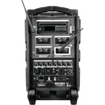 OMNITRONIC MOM-10BT4 Modular Wireless PA System #9