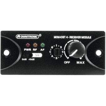 OMNITRONIC MOM-10BT4 Receiver Module #3