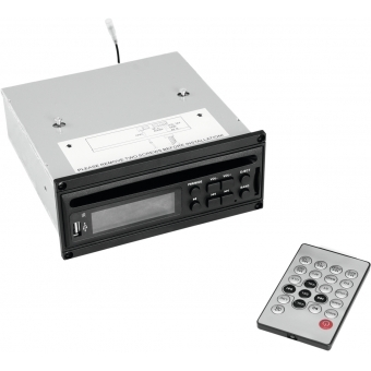 OMNITRONIC MOM-10BT4 CD Player with USB & SD #1