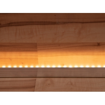 EUROLITE LED Strip 300 5m 3014 3000K 12V Side View #4