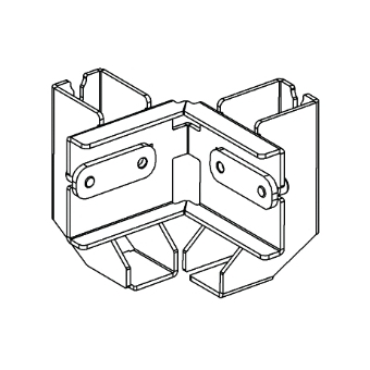 ALUTRUSS BE-1V3E connection clamp for BE-1G3 #2