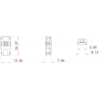 EUROLITE LED Strip Power Contact 2Pin 8mm #4