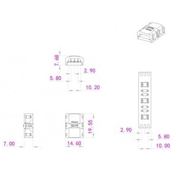 EUROLITE LED Strip Connector 3Pin 10mm #3
