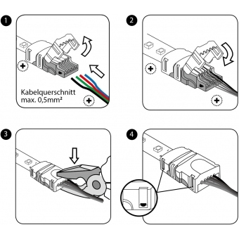 EUROLITE LED Strip flexible Connector 2Pin 10mm #3