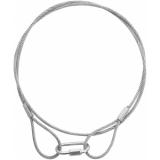 EUROLITE Steel Rope (SC) 900x3mm silver