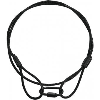 EUROLITE Steel Rope (SC) 900x4mm black
