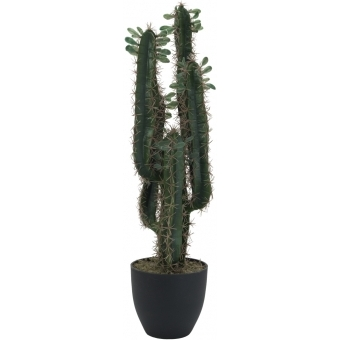 EUROPALMS Mexican cactus with leaves, artificial plant, 75cm