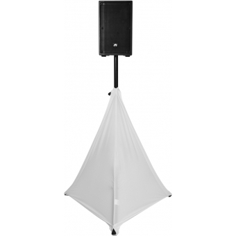 EUROPALMS Tripod Cover white two-sided #2