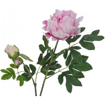 EUROPALMS Peony Branch Premium, pink, 100cm #2